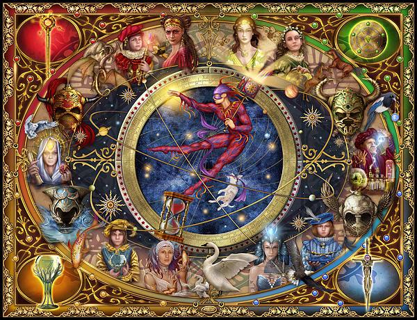 Legacy Of The Divine Tarot Print by Ciro Marchetti