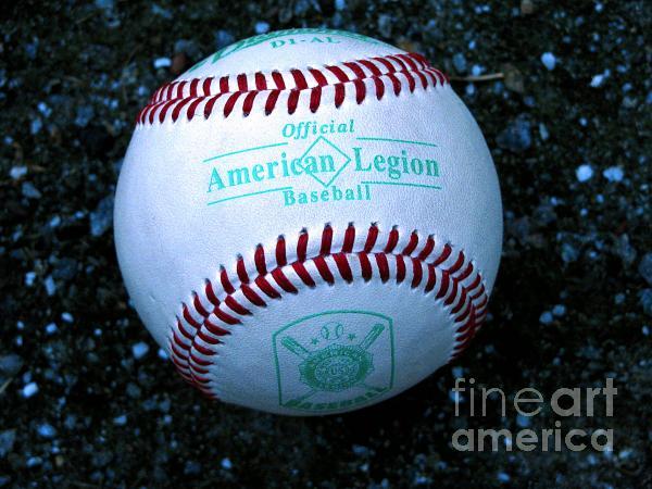 Legion Baseball Print by Colleen Kammerer