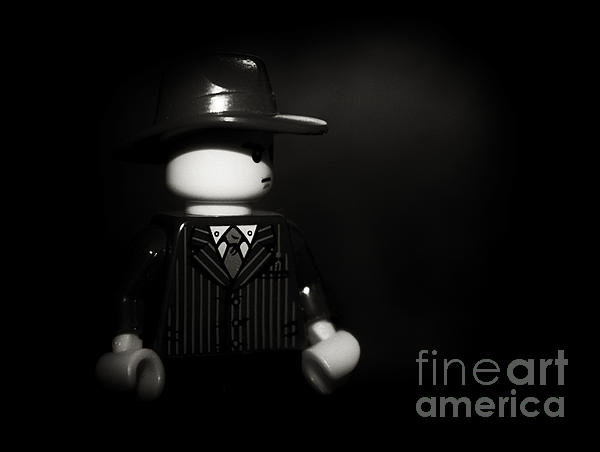 Lego Film Noir 1 Print by Cinema Photography