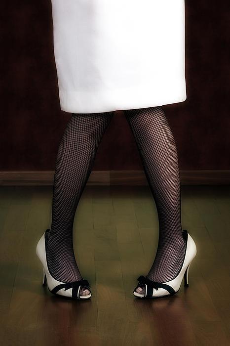 Legs And Shoes Print by Joana Kruse