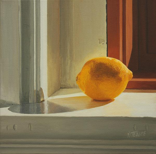 Lemon Solo Print by Nancy Teague