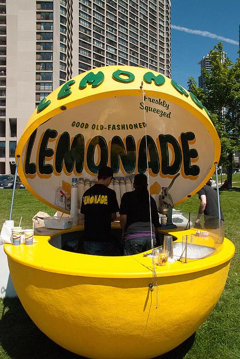 Lemonade Stand Toronto Canada Print by Robert Ford