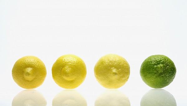 Lemons And Lime Print by Kelly Redinger