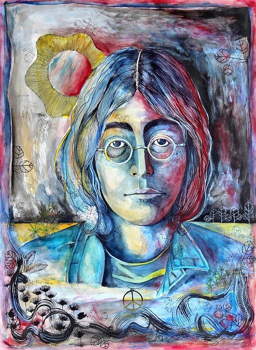 Lennon Print by Lorenzo Muriedas