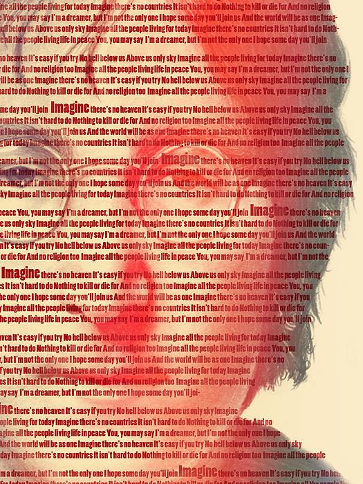Lennon  Print by Mark Ashkenazi