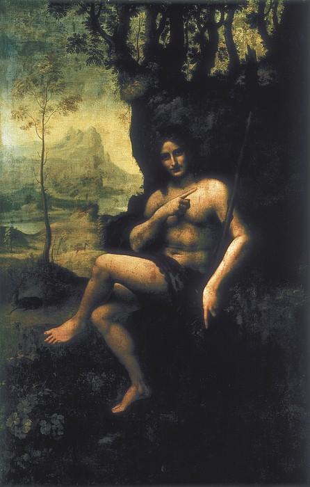 Leonardo Da Vinci, School Of First Half Print by Everett