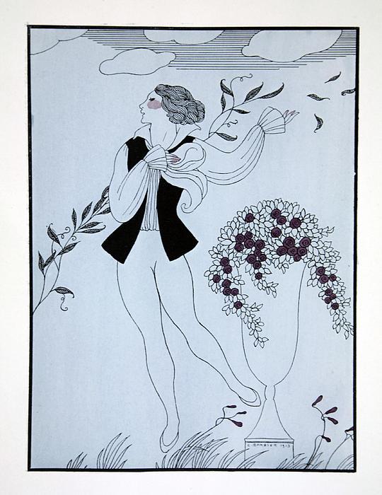 Les Sylphides Print by Georges Barbier