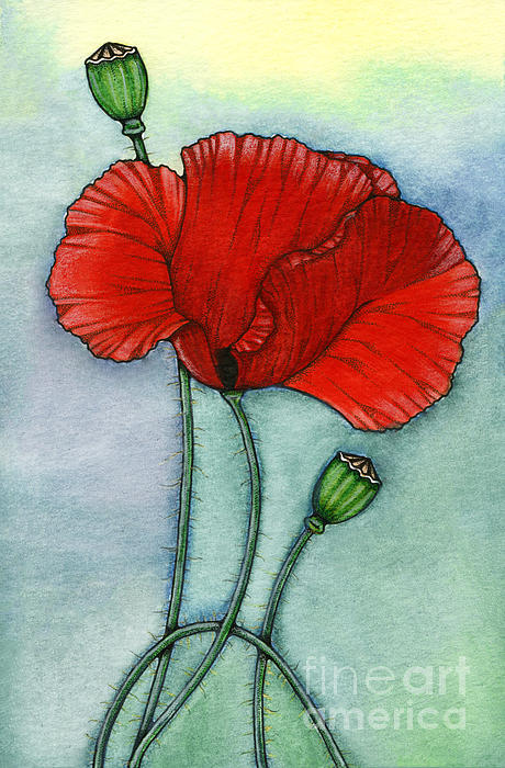 Lest We Forget Print by Nora Blansett