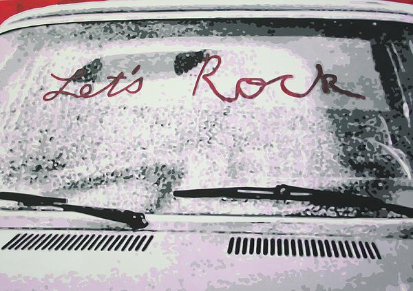 Lets Rock Print by Ludzska