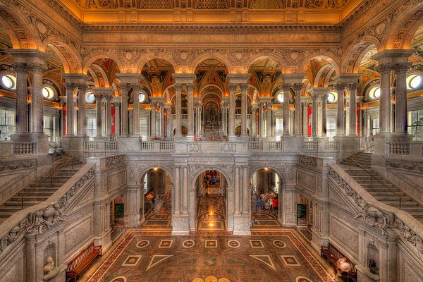 Library Of Congress Print by Steve Gadomski