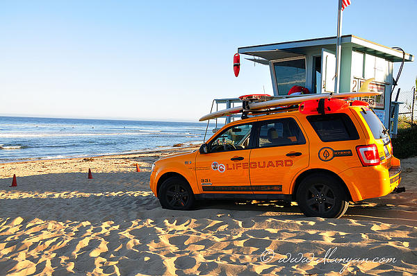 Life Guard  Print by Gandz Photography
