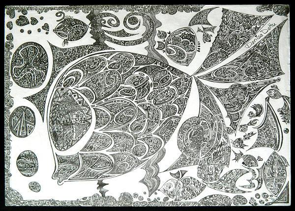 Life In Water Print by Denisa Laura Doltu