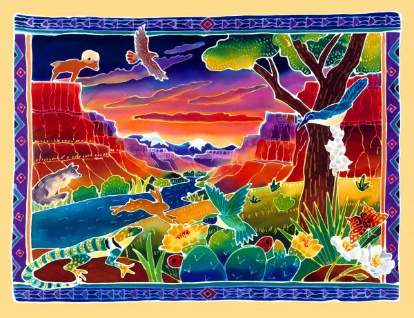 Life Of The Desert Print by Harriet Peck Taylor