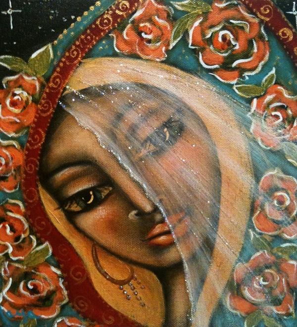 Lifting The Veil Print by Maya Telford