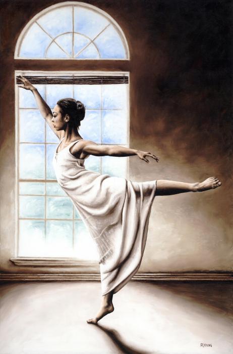 Light Elegance Print by Richard Young
