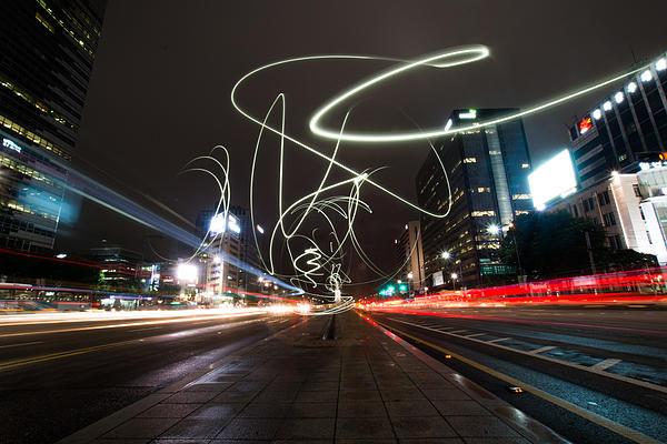 Light In Seoul Print by Yoo Seok Lee
