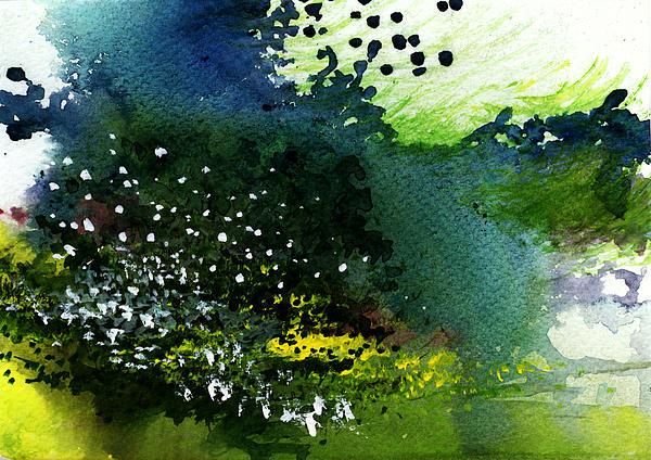 Light Music Print by Anil Nene
