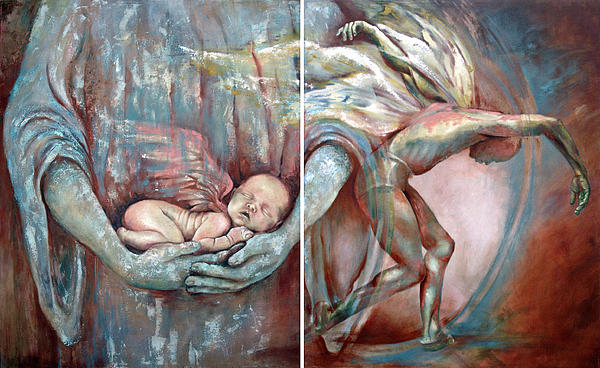 Light Of A Mortal Life Print by Karina Llergo Salto