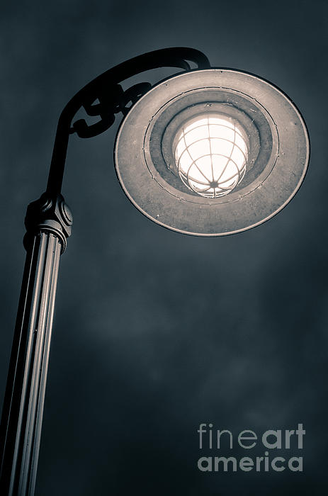 Light On Dark Days Print by Shutter Happens Photography