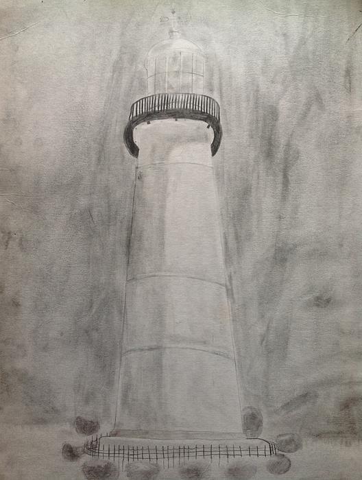 Lighthouse Print by Noah Burdett
