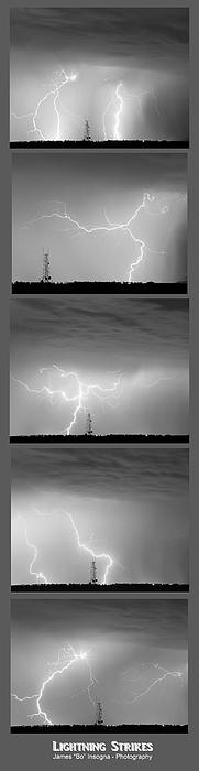 James BO  Insogna - Lightning Strikes 5 Image Vertical Progression
