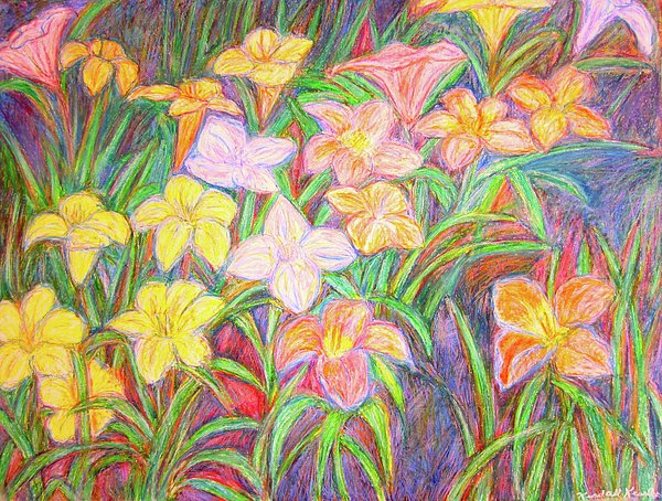 Lily Glow Print by Kendall Kessler