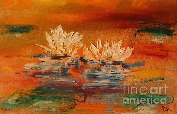 Lily Pad Print by PainterArtist FIN
