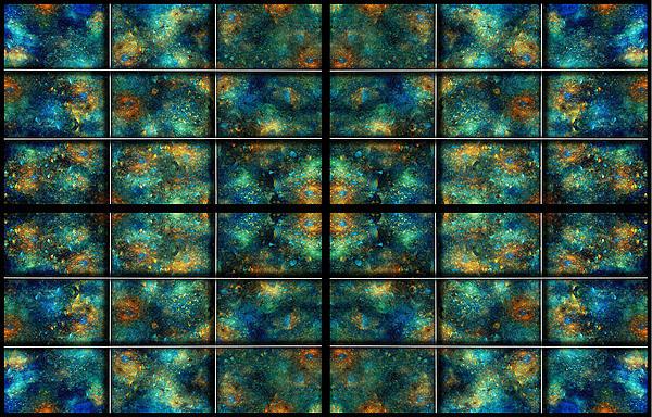 Limitless Night Sky Print by Betsy C  Knapp