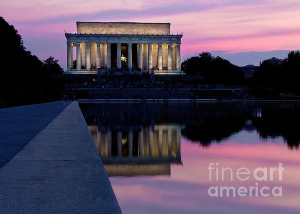 Jemmy Archer - Lincoln Memorial Sunset