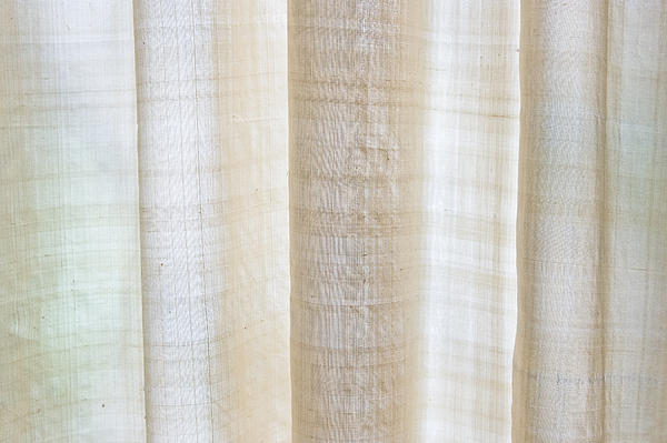 Linen Curtain Print by Tom Gowanlock