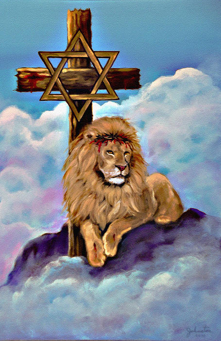 Bob and Nadine Johnston - Lion of Judah at the Cross