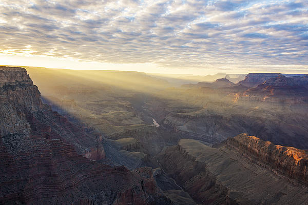 Lipon Point Sunset - Grand Canyon National Park - Arizona Print by Brian Harig