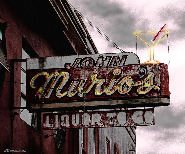 Liquor To Go Print by Larry Butterworth