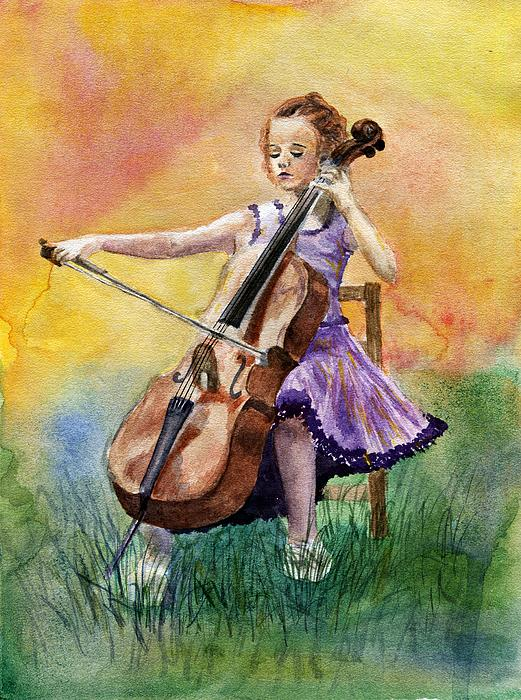 Anna Shell - Little Cellist
