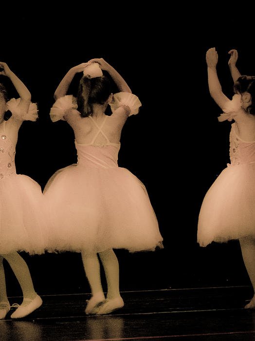 Little Dancers Print by Christie Kowalski