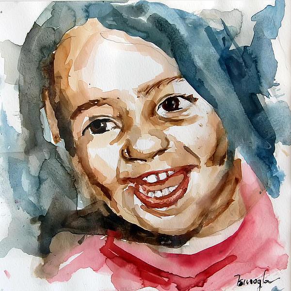 Little Maria Print by Michael Tsinoglou