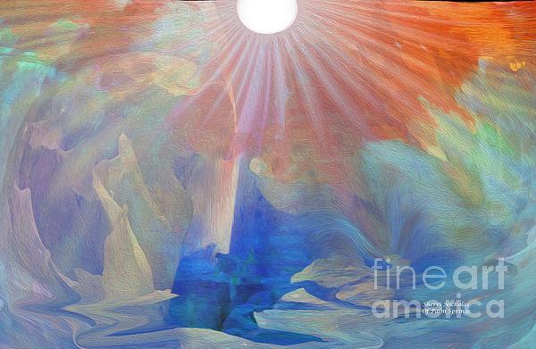 Living Under The Umbrella Of Light Print by Sherri  Of Palm Springs