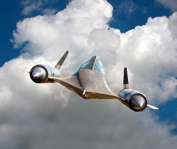 Lockheed Blackbird A12 Trainer Print by David Murphy