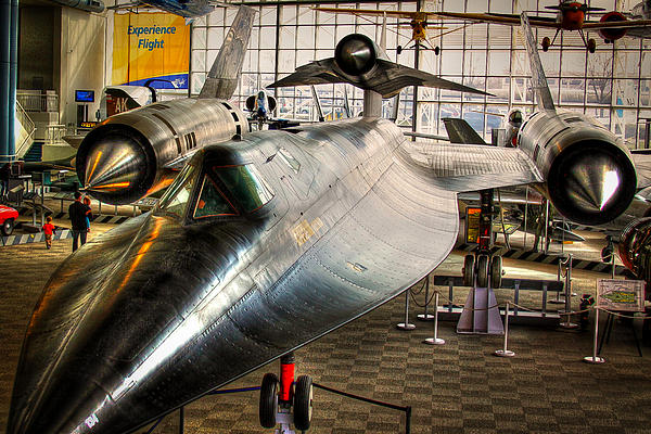 Lockheed M-21 Blackbird Print by David Patterson