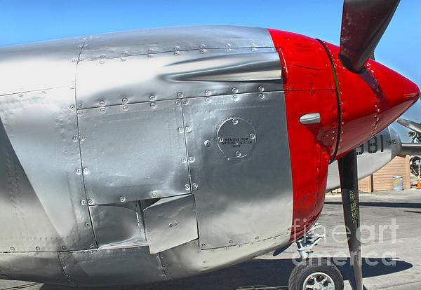 Lockheed P-38l Lightning Honey Bunny  - 08 Print by Gregory Dyer