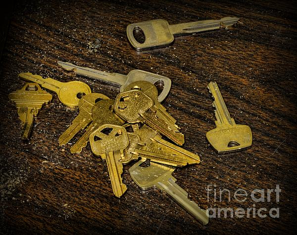 Locksmith - Rejected Keys Print by Paul Ward