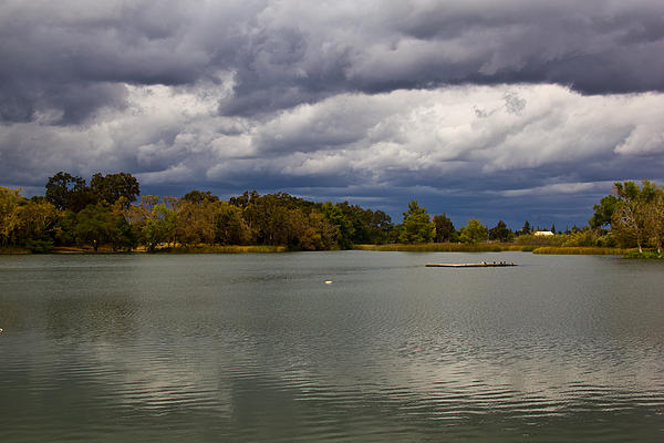 Lodi Lake Print by Randy Bayne