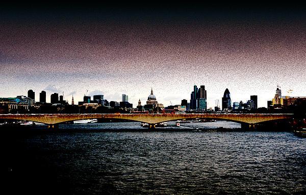 London Over The Waterloo Bridge Print by RicardMN Photography