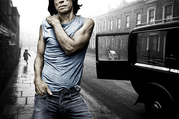 Tony Rubino - London Street Satisfaction With Mick Jagger