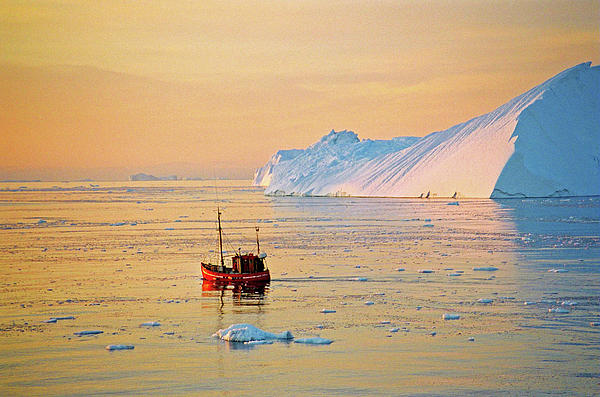 Juergen Weiss - Lonely Boat - Greenland