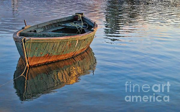 Alexandra Jordankova - Lonely River Boat