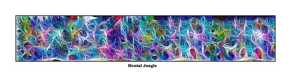 Long Series -- Mental Jungle Print by George Curington