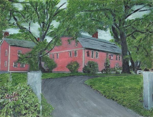 Longfellow's Wayside Inn Print by Cliff Wilson