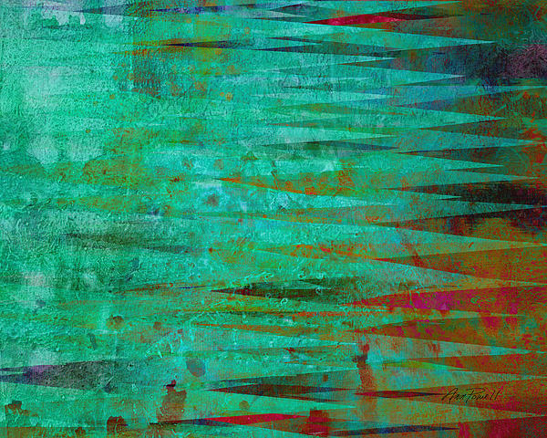 Longing - Abstract - Art Print by Ann Powell