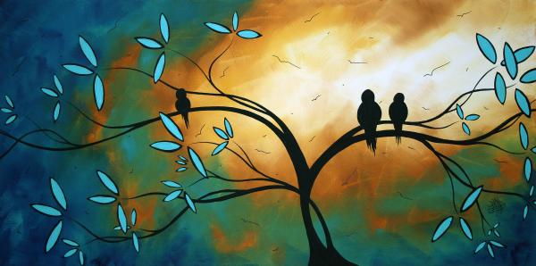Longing By Madart Print by Megan Duncanson